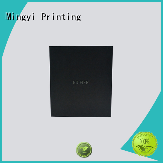 Mingyi Printing Brand padding trophy wooden hard gift boxes customized