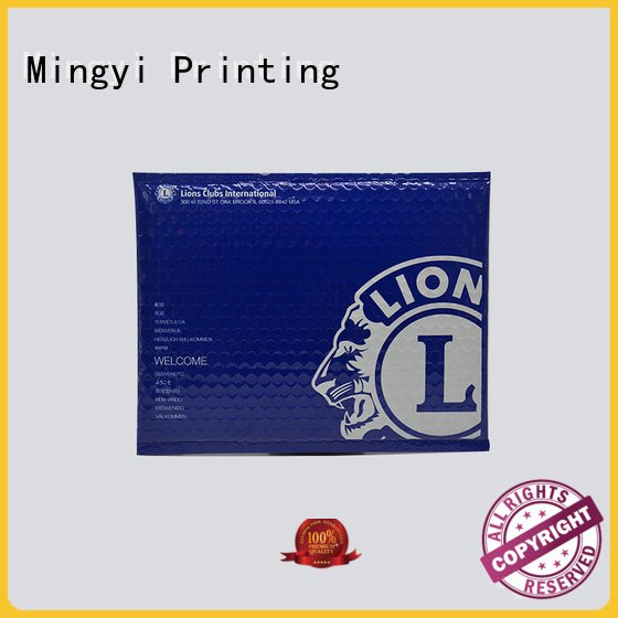 Mingyi Printing Brand daily commodities packaging stickers document cardfile factory