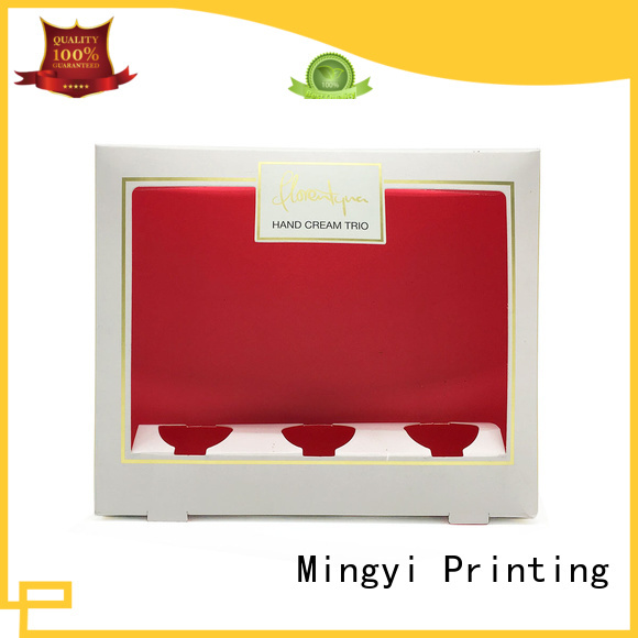 Mingyi Printing Brand eva flocking coloured packaging boxes commodity