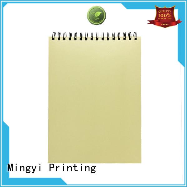 Hot cheap scrapbook albums notebook folder Mingyi Printing Brand