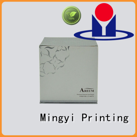 eva base attractive Mingyi Printing Brand coloured packaging boxes factory