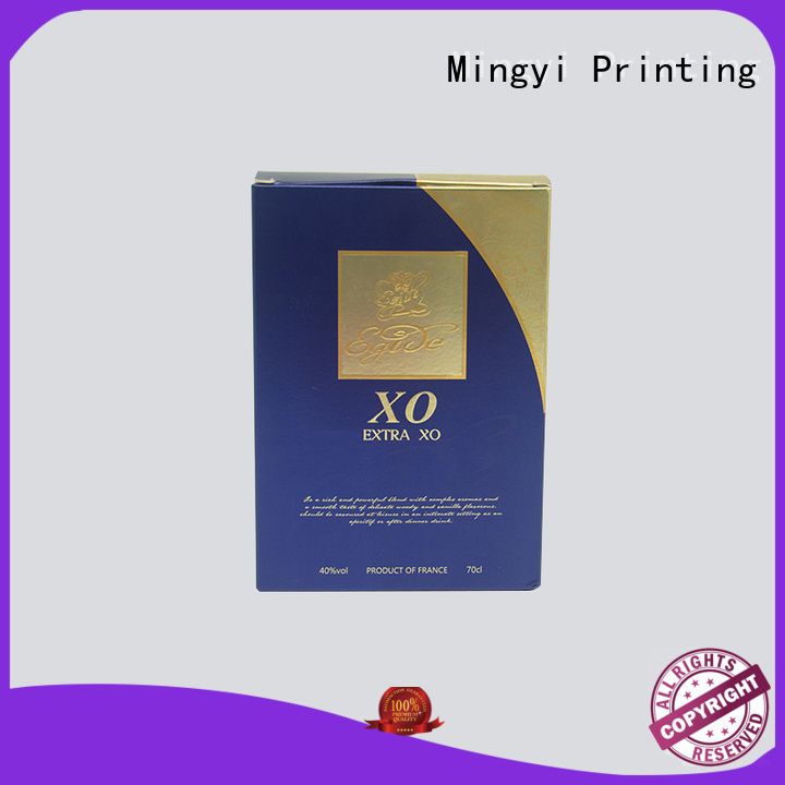 Hot coloured packaging boxes cosmetics Mingyi Printing Brand