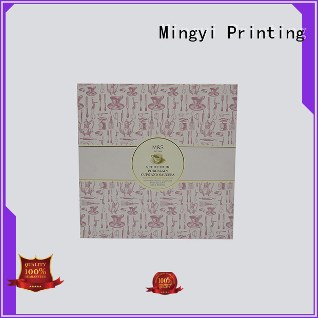 Quality Mingyi Printing Brand coloured packaging boxes alcohol craft