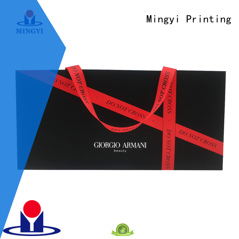 best quality ribbon clothing colorcards tag Mingyi Printing Brand