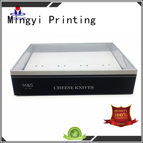 Mingyi Printing Brand trophy cosmetics hard gift boxes wooden supplier