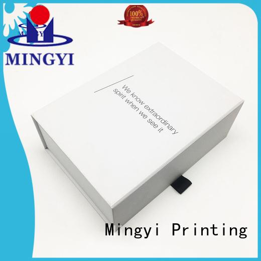 hard hard gift boxes products Mingyi Printing company