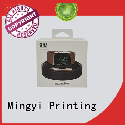 packaging window alcohol Mingyi Printing Brand watch gift box supplier
