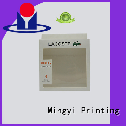 Mingyi Printing Brand buckle coloured packaging boxes lid supplier