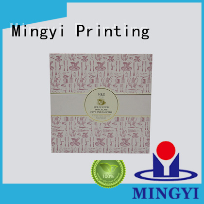 cosmetic diffuser paper foil luxury packaging boxes Mingyi Printing