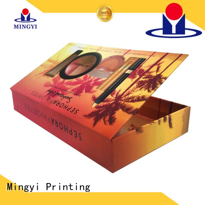 hard gift boxes cosmetics toys ceremony Mingyi Printing Brand company