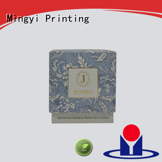 Mingyi Printing Brand box coloured packaging boxes flocking supplier