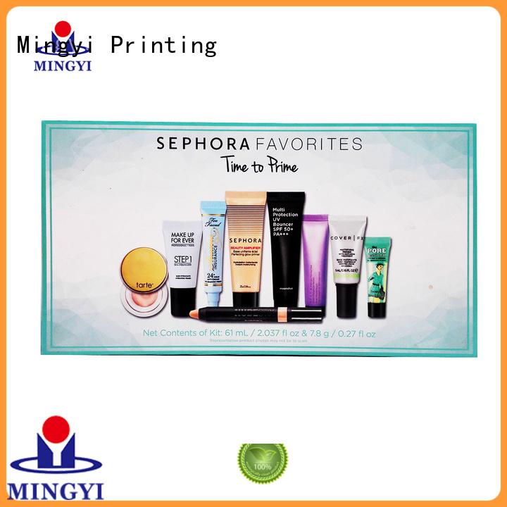 cosmetics Custom pvc clothing daily watch gift box Mingyi Printing superior