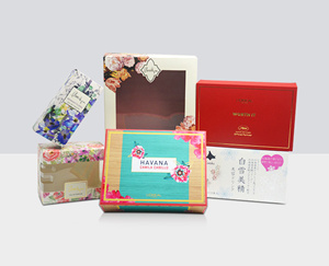 Cosmetic Packaging Box with PVC Window