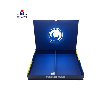 New design luxury flat clamshell souvenir cloth packaging for a well-known brand