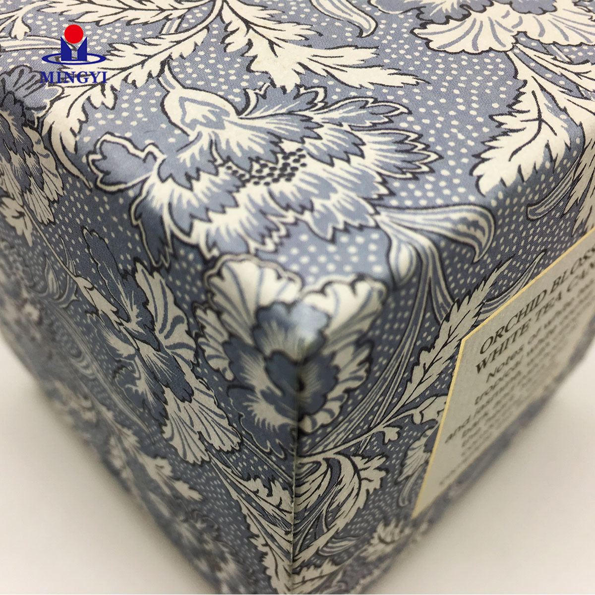 Custom Luxury Small Folding Macarons Packaging Facial Tissue Carton Foldable Recycled Paper Cardboard Candle Boxes