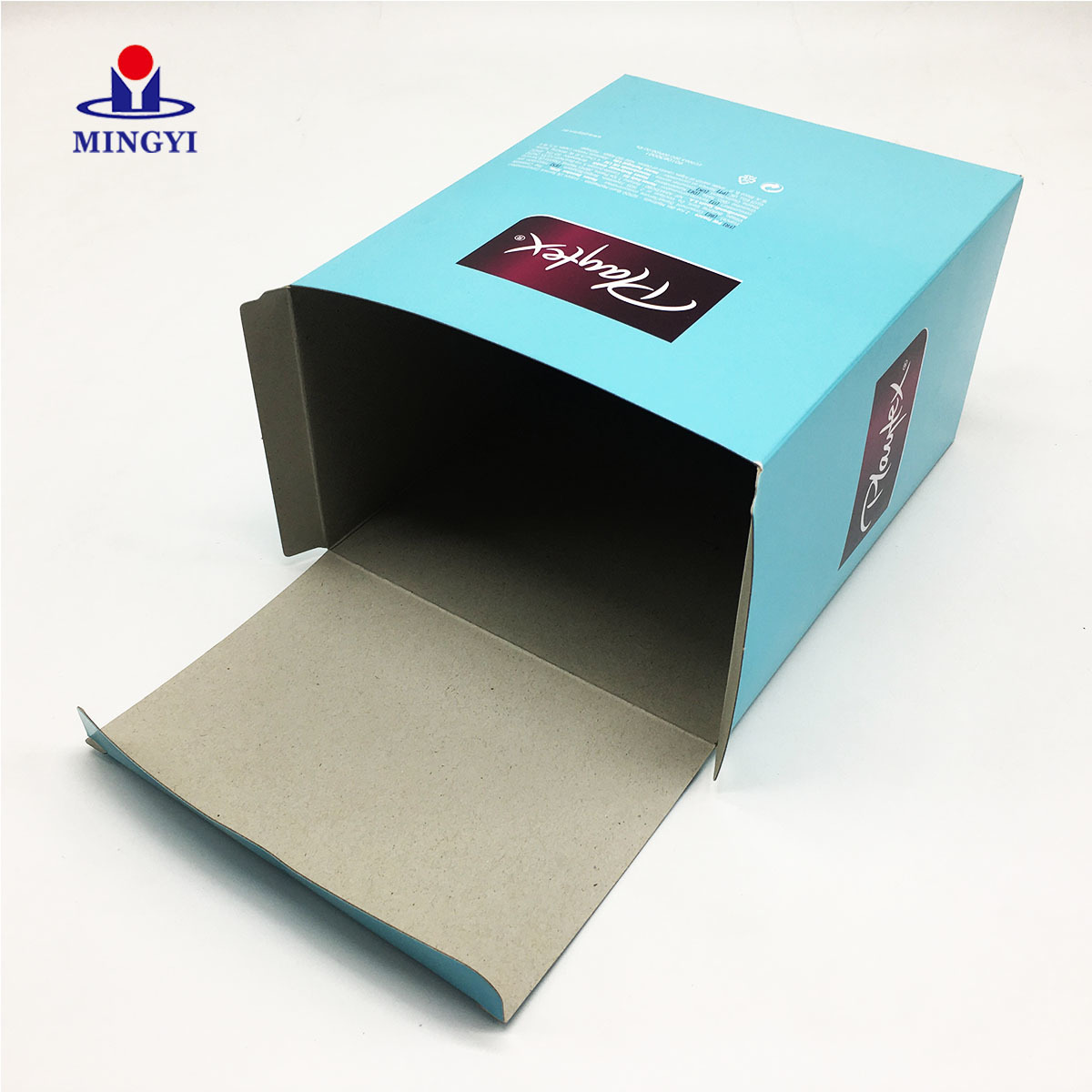 Cheap cosmetic soap and underwear packaging with lid use C1S paper