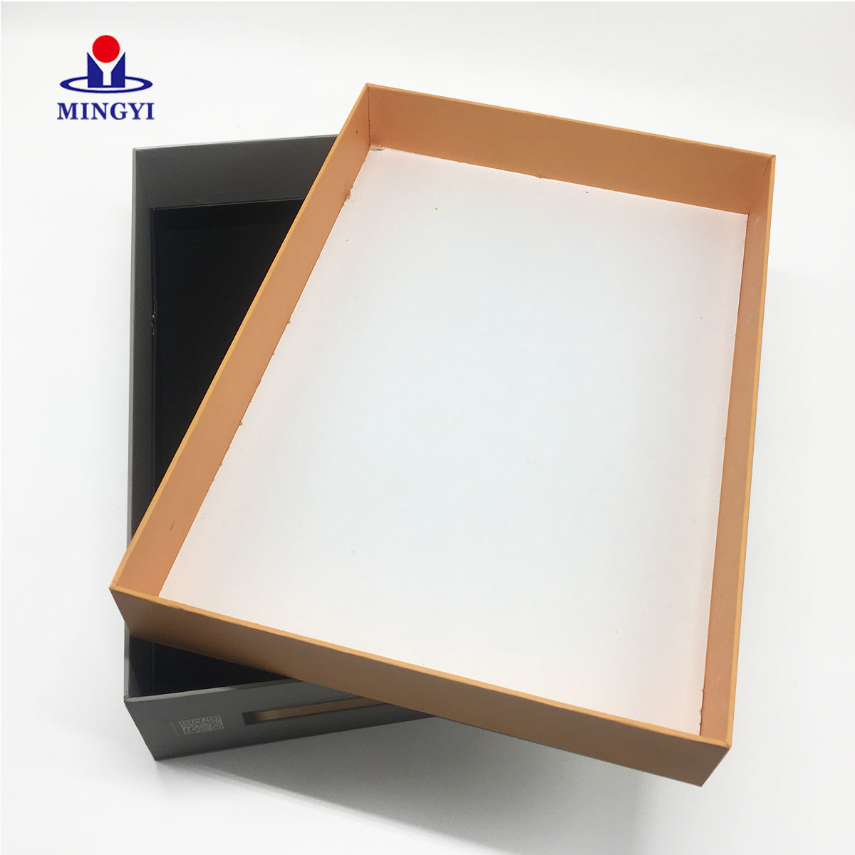 New customized design luxury digital paper packaging with lid open