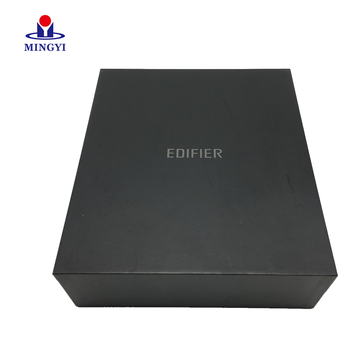Well-know brand digital paper packaging box with lid open