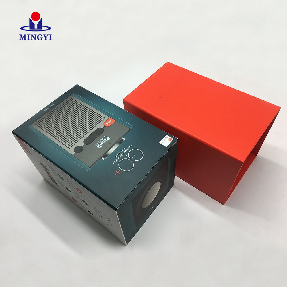 Luxury high grade customized greyboard packaging box with lid plug