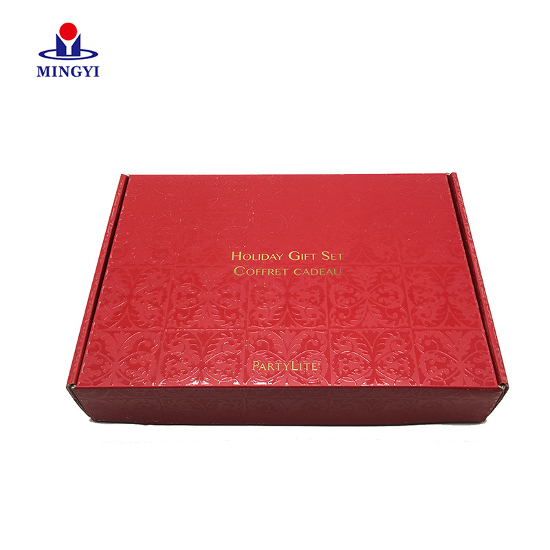 Customized book-shape packaigng box with luxury surface for cloth